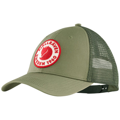 1960 Logo Langtradarkeps Cap Green | Shop Fjallraven shop at thewoolpress.com