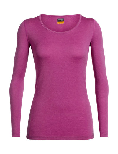 Womens 200 Oasis LS Scoop-Icebreaker | thewoolpress.com