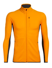Mens Descender LS Zip-Icebreaker | thewoolpress.com