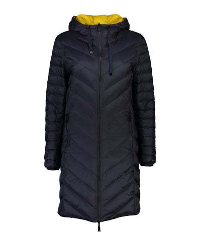Womens Arnie Coat - Moke | thewoolpress.com