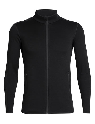 Mens Elemental LS Zip - Black