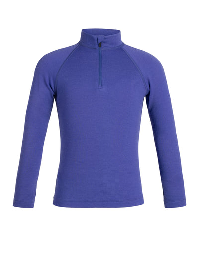 Kids 260 Tech LS Half Zip 8-14 Years - Mystic