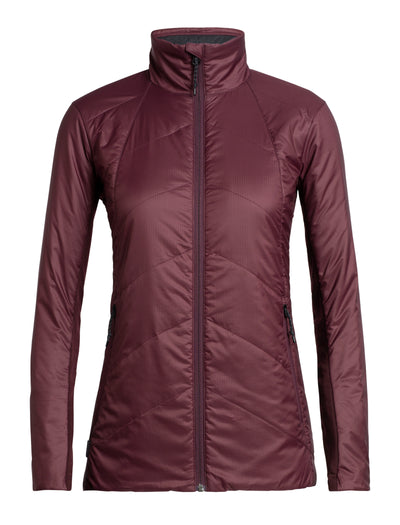 Womens Helix Jacket - Velvet