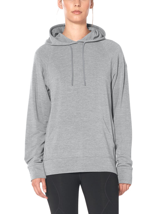 Womens MoMentum Hooded Pullover shop Icebreaker at TheWoolPress in Arrowtown, NZ