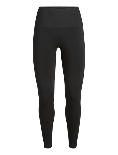 Womens Motion Seamless High Rise Tights - Black