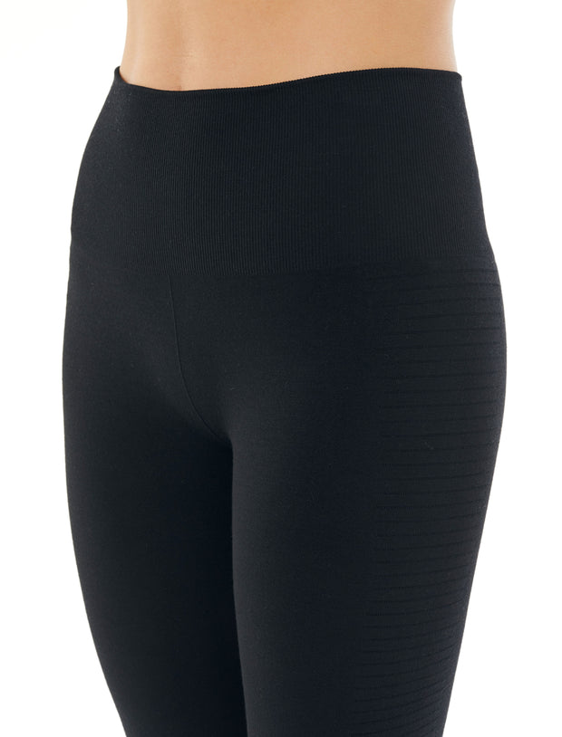 Womens Motion Seamless High Rise Tights - Shale Heather