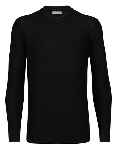Mens Waypoint Crewe Sweater - Black