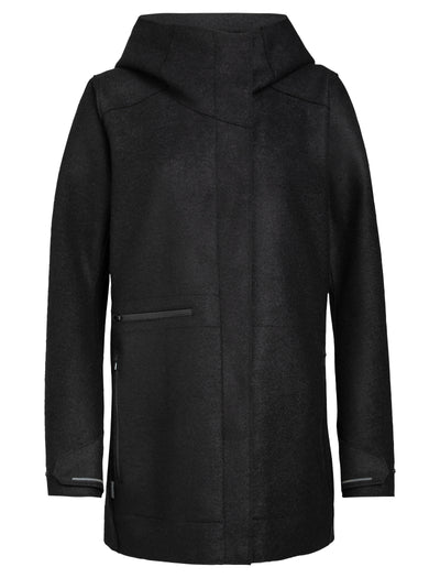 Womens Ainsworth Hooded Jacket - Black