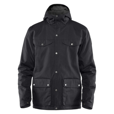 Mens Greenland Winter Jacket - Black