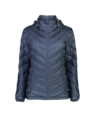 Womens Lauren Jacket - Moke | thewoolpress.com