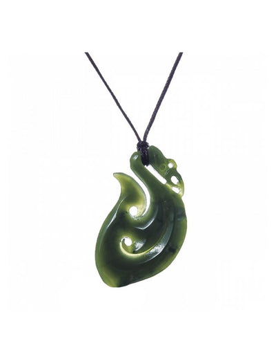 All Blacks Pounamu Manaia Medium-Moreton Jewellery-The WoolPress Arrowtown