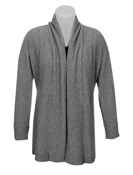 Native World-Womens Possum Merino Wrap Jacket-shop online at www.thewoolpress.com