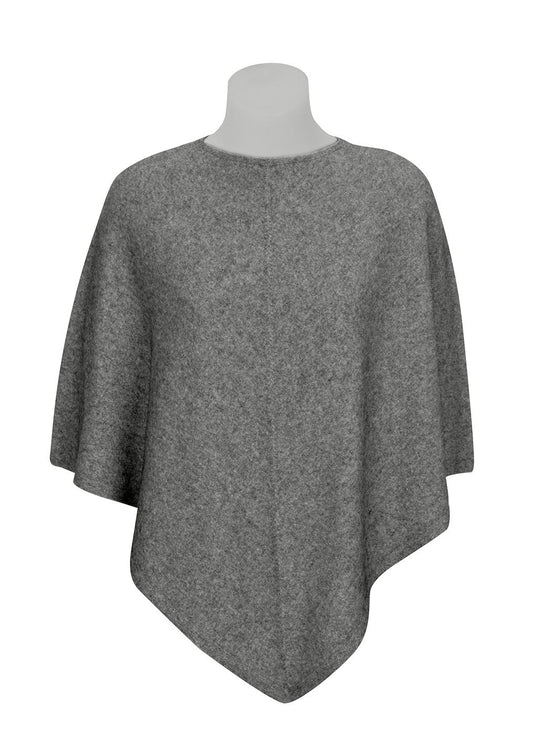 Womens Possum Merino Poncho