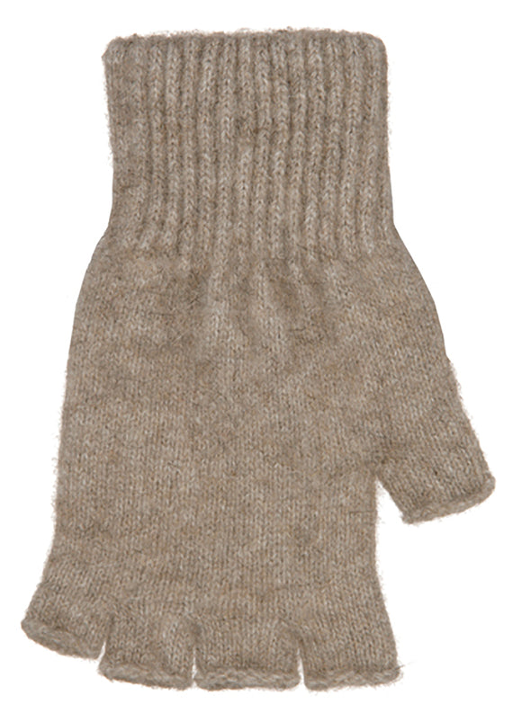 Fingerless Plain Gloves-Native World-The WoolPress Arrowtown