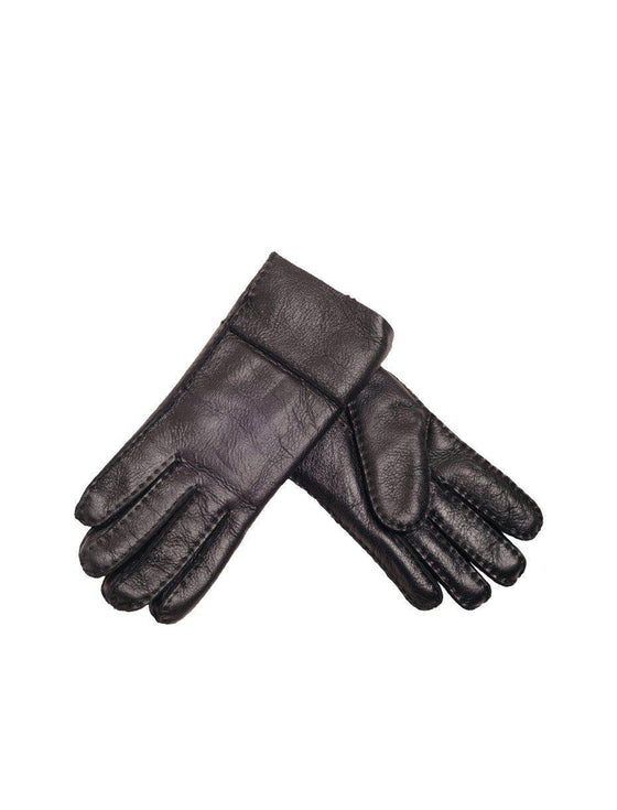 Sheepskin Nappa Gloves - Black