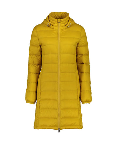 Womens Sarah Coat - Moke | thewoolpress.com