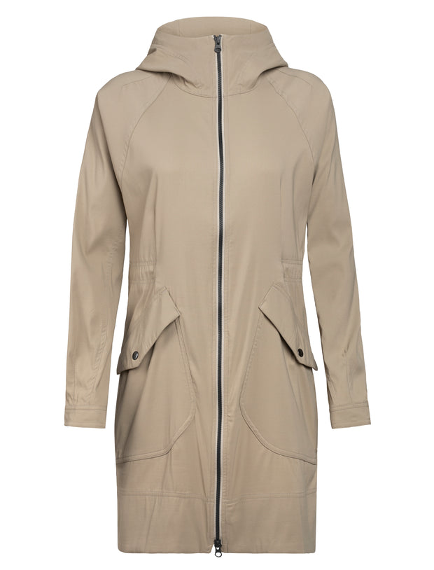 Womens Briar Hooded Zip Parka