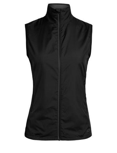 Womens Rush Vest - Black