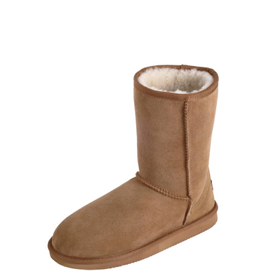 Mi Woollies UGG Button Boot Walnut | thewoolpress.com