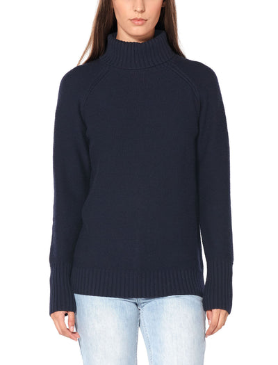 Womens Waypoint Roll Neck Sweater
