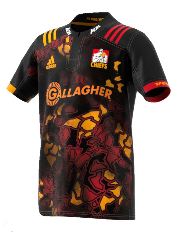 adidas-Kids Waikato Chiefs Territory Jersey - Limited Edition Lions Tour 2017-shop online at www.thewoolpress.com