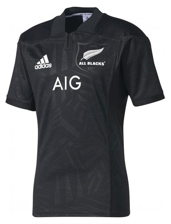 Mens All Blacks Home Jersey - Limited Edition Lions Tour 2017