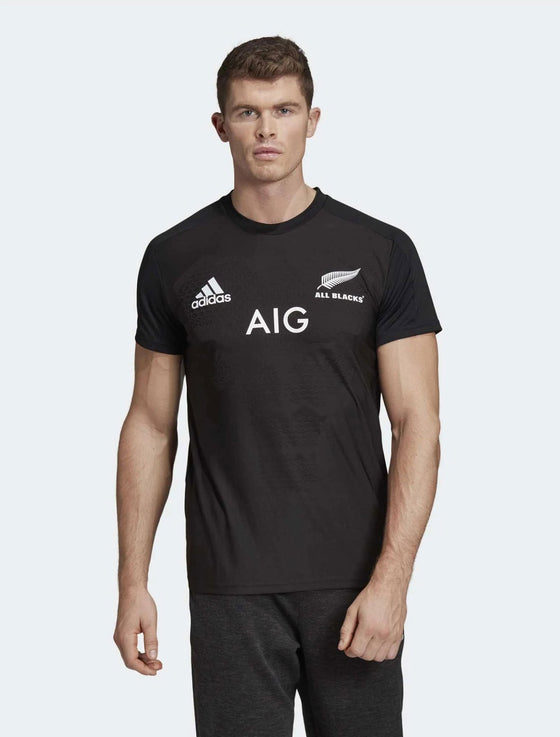 Mens All Blacks Home Performance Tee-adidas | thewoolpress.com