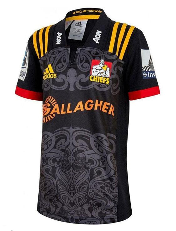 Kids Waitako Chiefs Home Jersey-adidas-The WoolPress Arrowtown