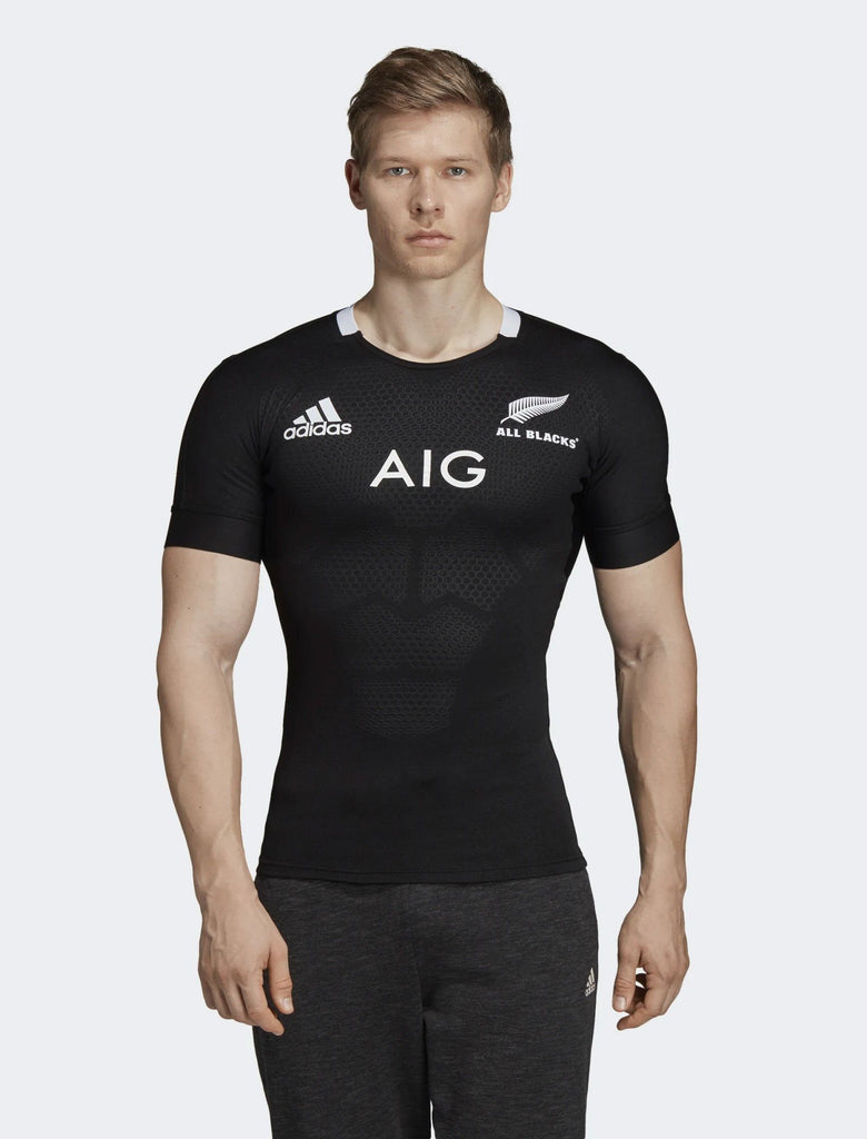 Mens All Blacks Home Performance Jersey-adidas-The WoolPress Arrowtown
