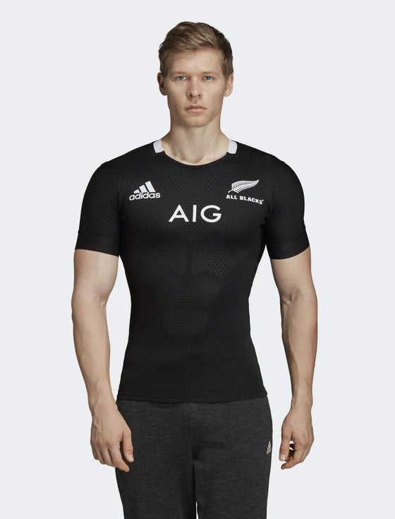 adidas-Mens All Blacks Home Performance Jersey-shop online at www.thewoolpress.com
