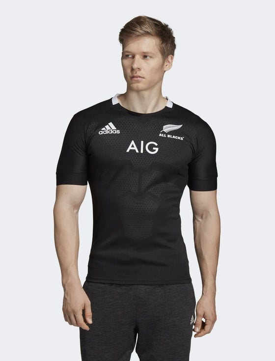 fb065eb9603 adidas-Mens All Blacks Home Jersey-shop online at www.thewoolpress.com ...