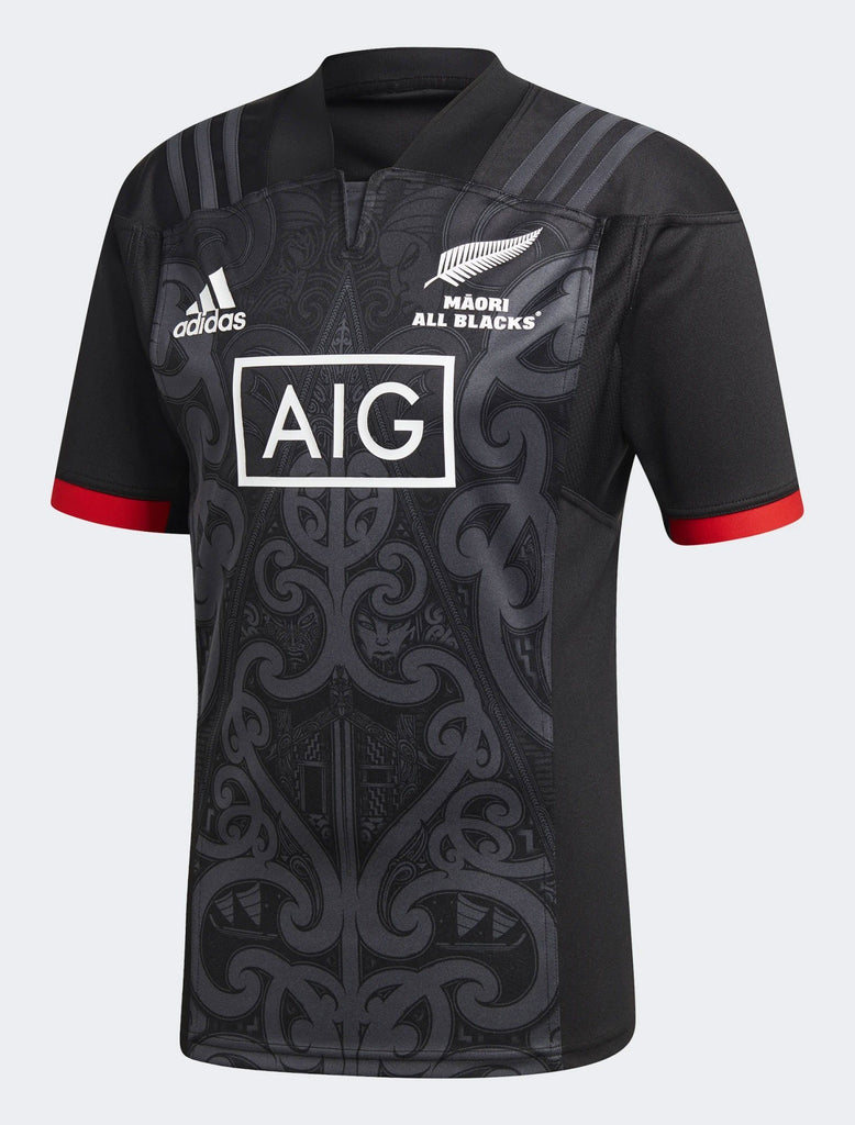 Mens All Blacks Maori Replica Jersey-adidas-The WoolPress Arrowtown