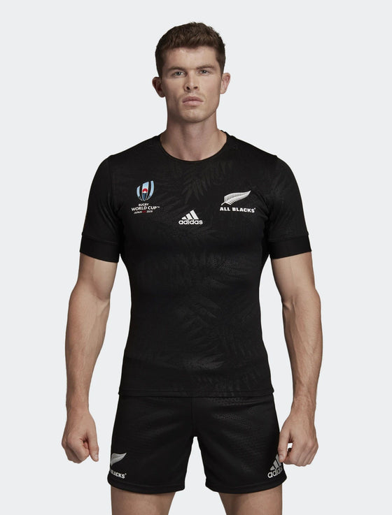 Mens All Blacks Rugby World Cup 2019 Y-3 Home Performance Jersey-adidas-The WoolPress Arrowtown