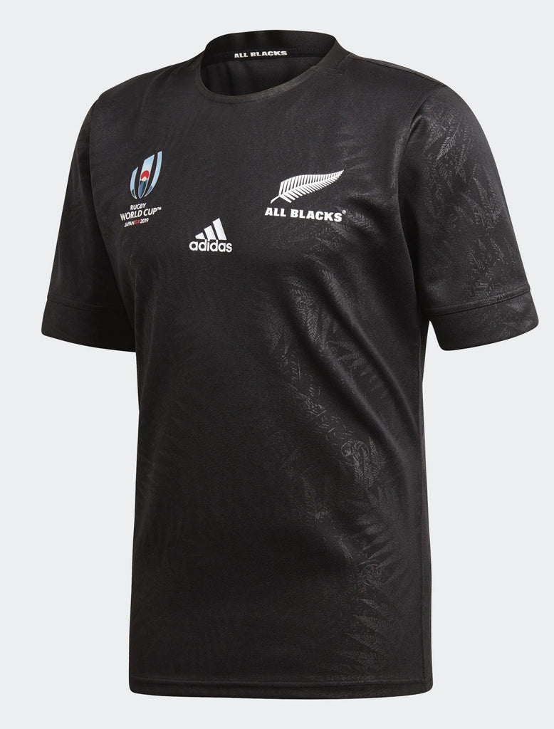 Mens All Blacks Rugby World Cup 2019 Y-3 Home Jersey-adidas-The WoolPress Arrowtown