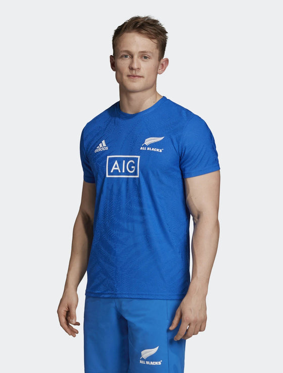 Mens All Blacks Rugby World Cup 2019 Y-3 Performance Tee-adidas-The WoolPress Arrowtown
