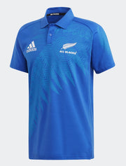 Mens All Blacks Rugby World Cup 2019 Y-3 Anthem Polo Shirt-adidas-The WoolPress Arrowtown