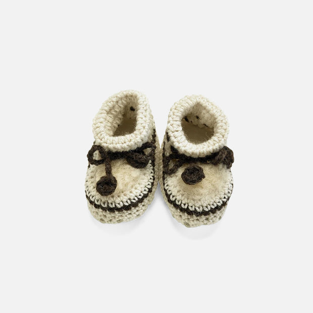 Baby Crochet Bootees