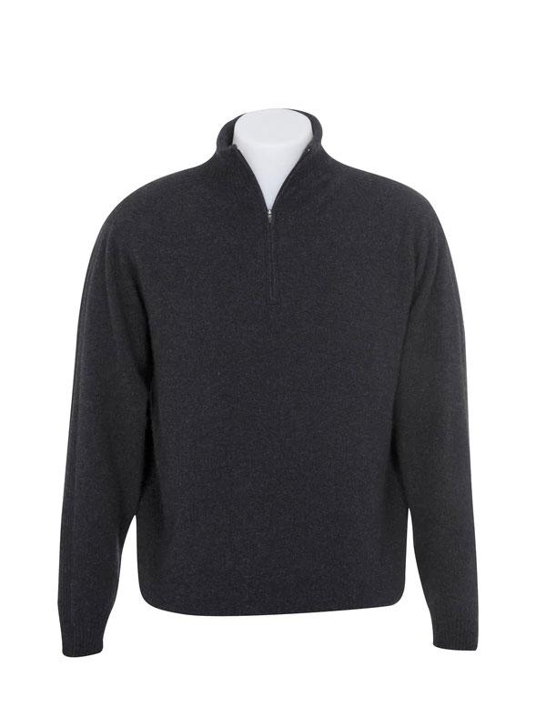 Mens Possum Merino Lightweight 1/2 Zip