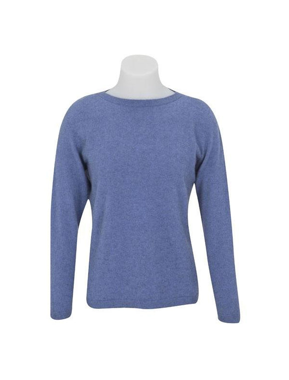Womens Round Neck Sweater-Native World-The WoolPress Arrowtown