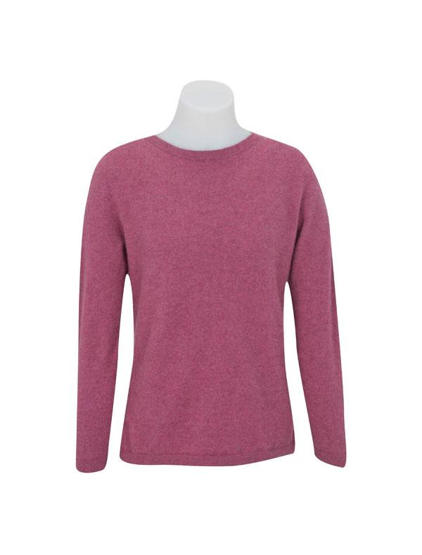 Womens Possum Merino Round Neck Sweater