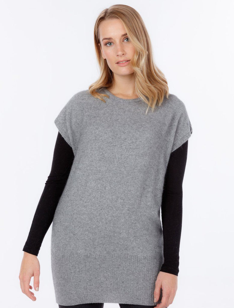 Womens Long Line Tunic-Native World-The WoolPress Arrowtown
