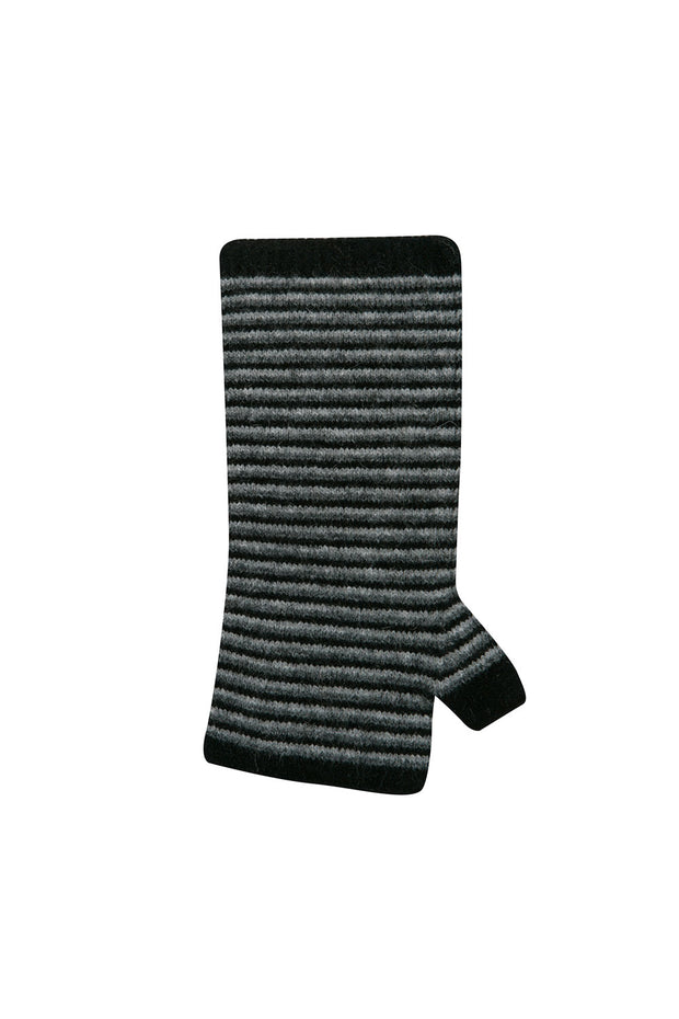 Striped Wrist Warmers-Native World-The WoolPress Arrowtown