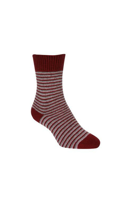 Striped Dress Sock-Native World-The WoolPress Arrowtown