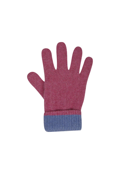 Two Tone Glove-Native World-The WoolPress Arrowtown
