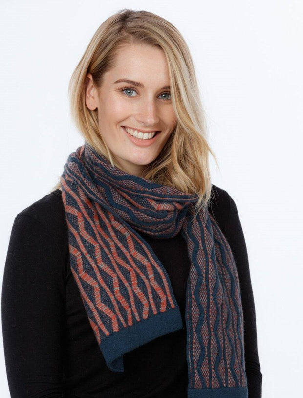 Dune Scarf-Native World-The WoolPress Arrowtown