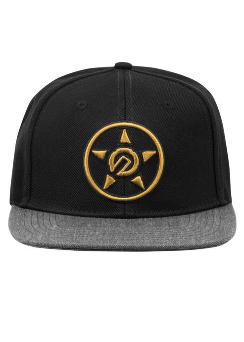 Unit Province Snap Back Cap - Black