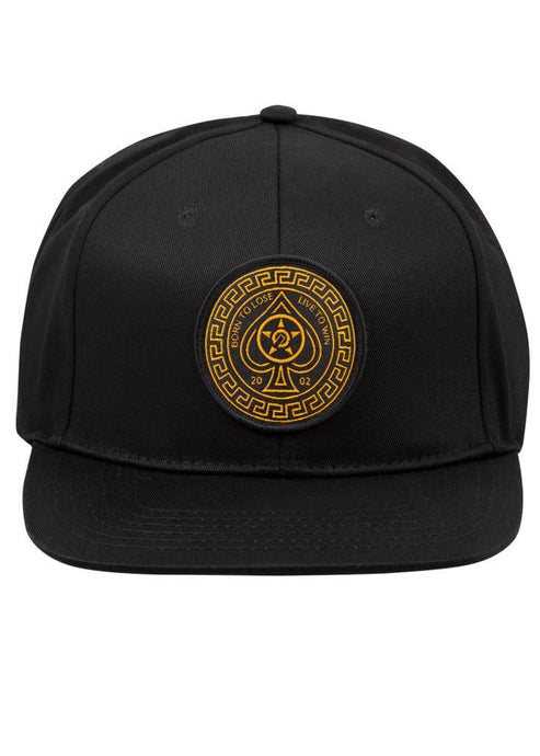 Unit Kingpin Snap Back Cap - Black