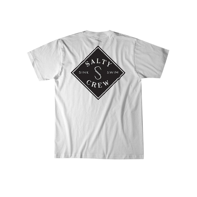 Salty Crew Tippet Two Tone Short Sleeve T-Shirt - White