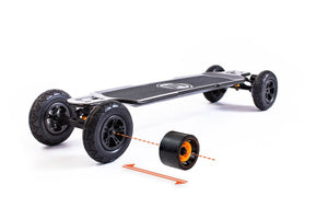 Evolve GT CARBON SERIES 2IN1 ELECTRIC SKATEBOARD