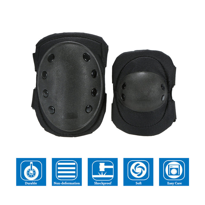 Sk8One Heavy Duty Knee Pad & Elbow Pad Set